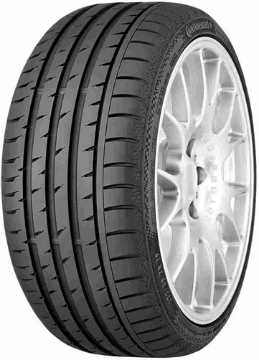 CONTINENTAL SPORTCONTACT 3 295/30/ZR19 (100) Y